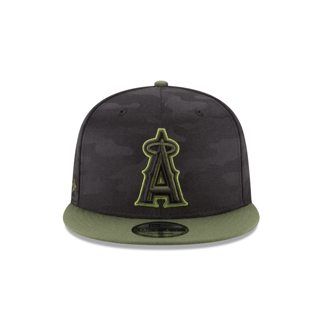 Anaheim Angels Memorial Day  9Fifty Snapback Vista frontal
