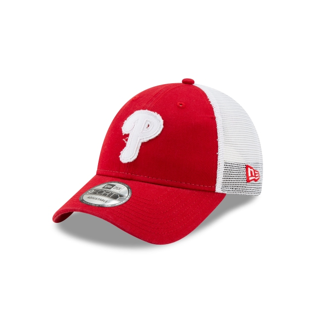 Gorra De Philadelphia Phillies Team Truckered  9forty Trucker Snapback | New Era Cap