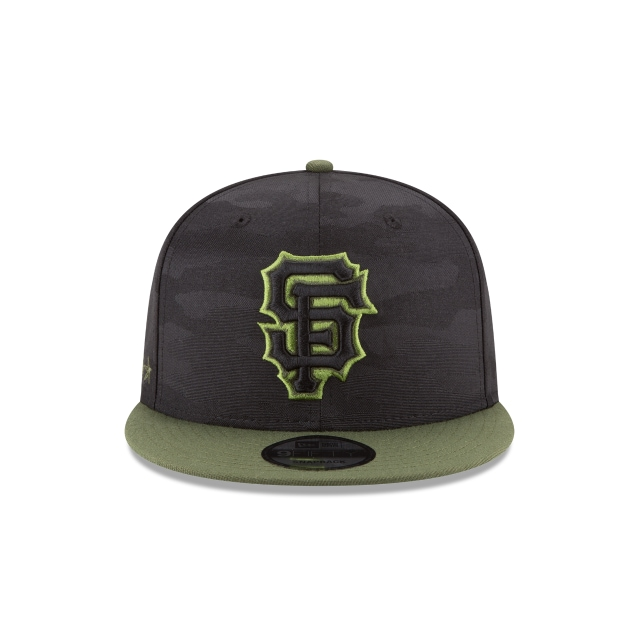 San Francisco Giants Memorial Day  9Fifty Snapback Vista frontal