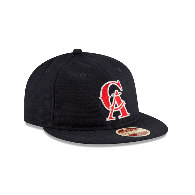 California Angels Injection Pack Vintage Stripe  59Fifty RC Cerrada Vista derecha tres cuartos