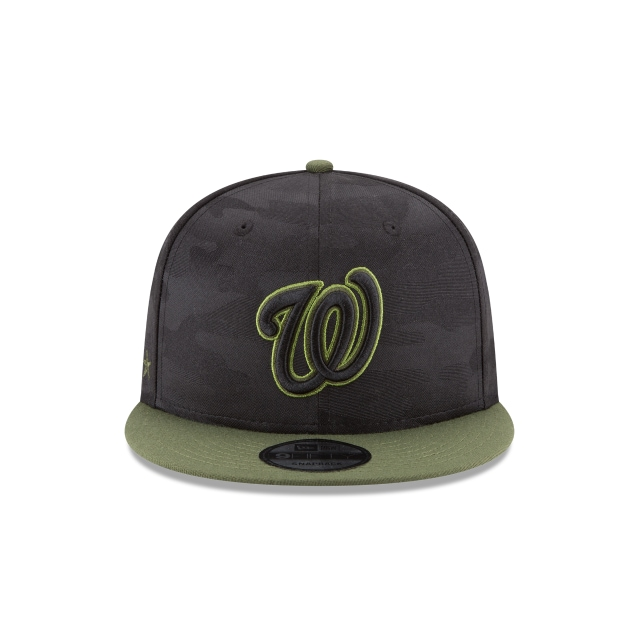 Washington Nationals Memorial Day  9Fifty Snapback Vista frontal