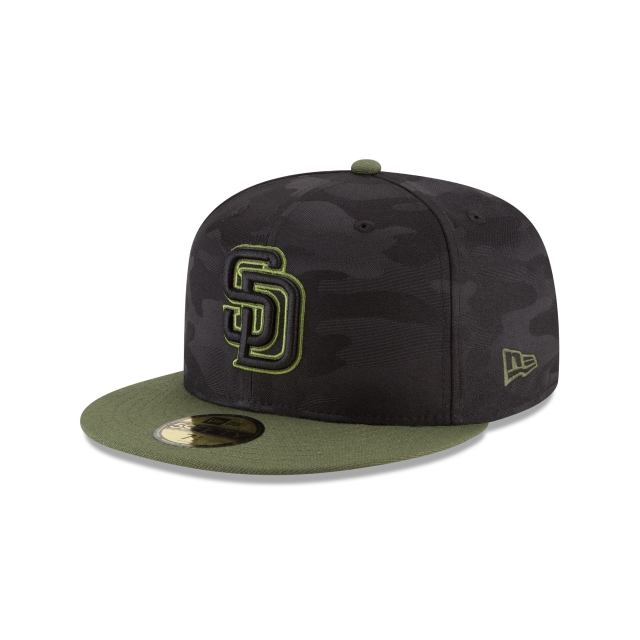 San Diego Padres Memorial Day  59fifty Cerrada | San Diego Padres Caps | New Era Cap