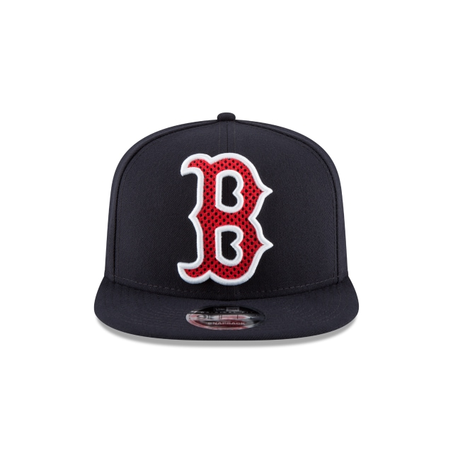 Boston Red Sox Meshed Mix  9Fifty OF Snapback Vista frontal