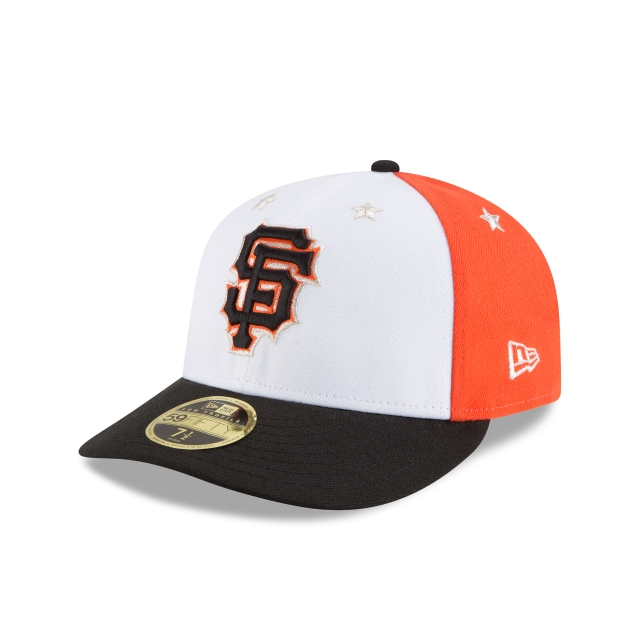 San Francisco Giants MLB All-Star Game 2018  59Fifty LP Cerrada Vista izquierda tres cuartos