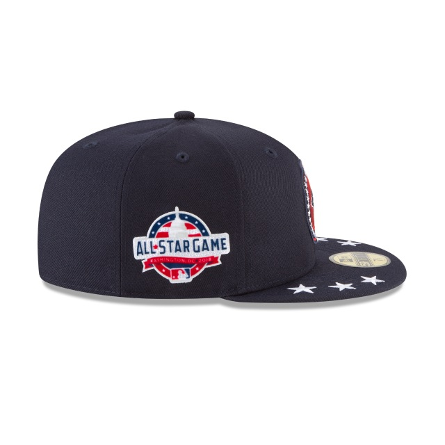 Toronto Blue Jays MLB All-Star Game 2018  59Fifty Cerrada Vista derecha tres cuartos