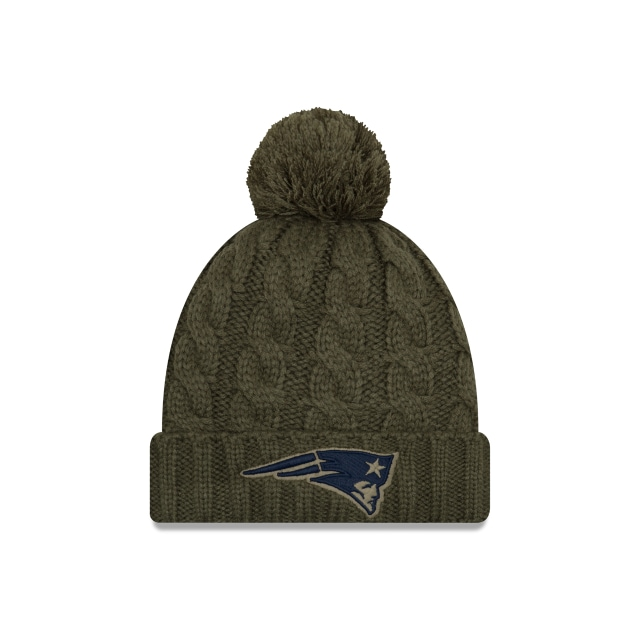 New England Patriots NFL Salute To Service 2018 Mujer Knit Vista frontal