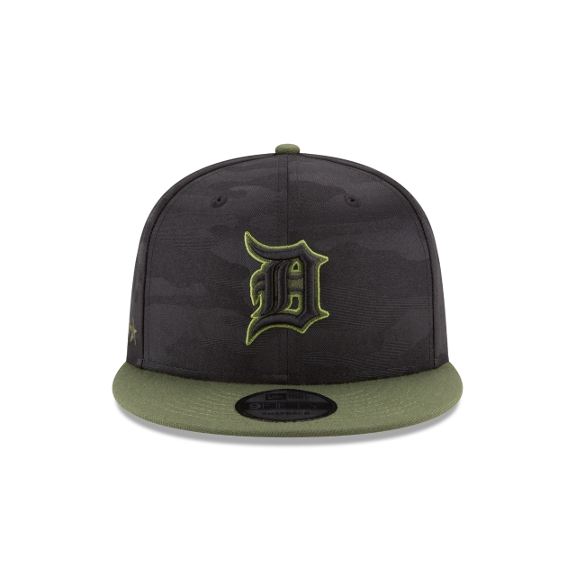 Detroit Tigers Memorial Day  9Fifty Snapback Vista frontal