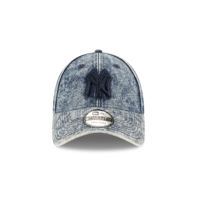 New York Yankees Denim Dipped  9twenty Strapback | New York Yankees Caps | New Era Cap