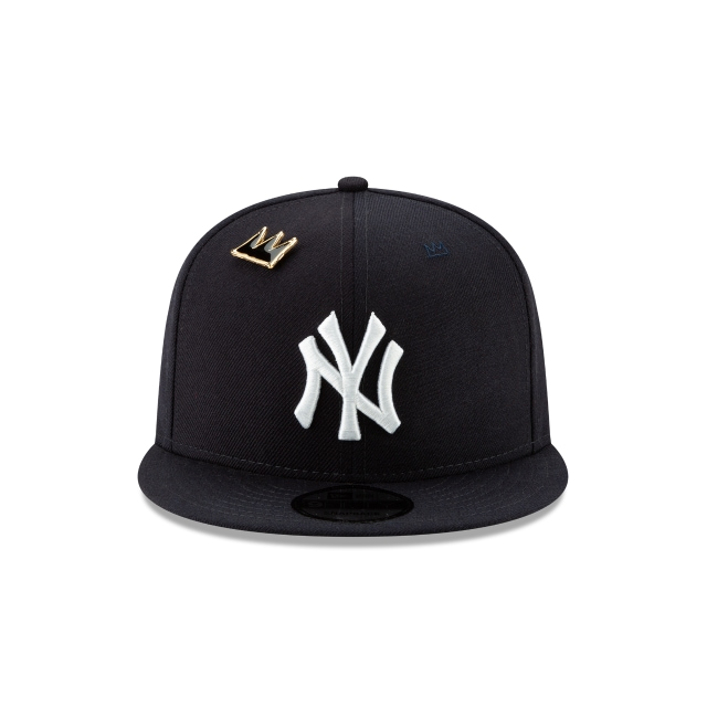 New York Yankees Jean Michel Basquiat  9Fifty Snapback Vista frontal
