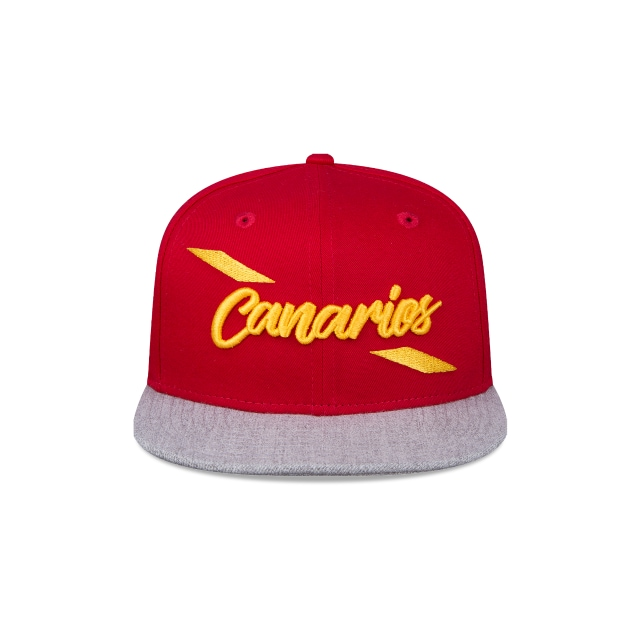 Monarcas Morelia Futbol Mexicano  9Fifty OF Snapback Vista frontal