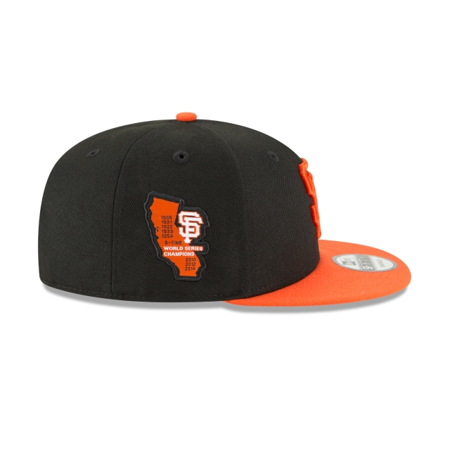 San Francisco Giants Side Stated  9Fifty Snapback Vista derecha