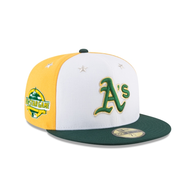Oakland Athletics MLB All-Star Game 2018 Niño 59Fifty Cerrada Vista derecha tres cuartos