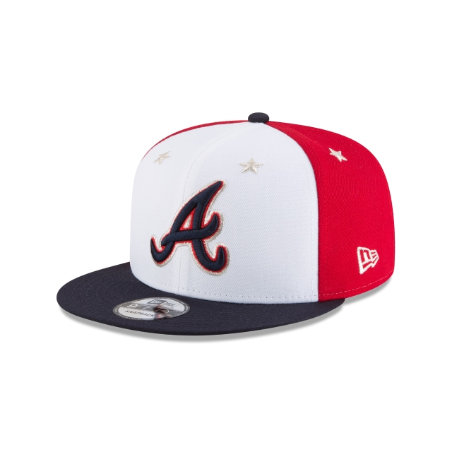 Atlanta Braves MLB All-Star Game 2018  9Fifty Snapback Vista izquierda tres cuartos