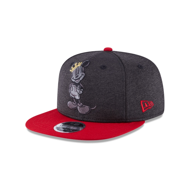 Mickey Mouse Heather Huge Snap  9Fifty OF Snapback Vista izquierda tres cuartos