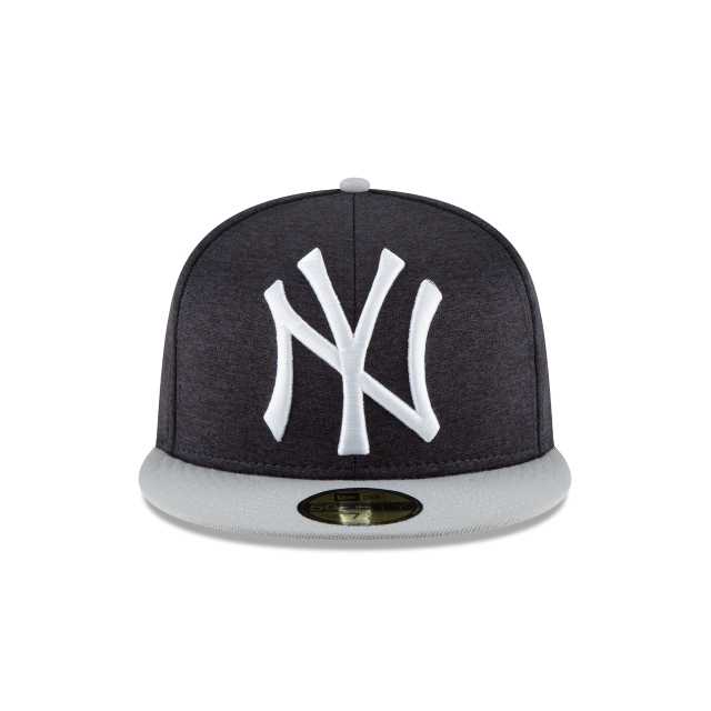 New York Yankees Heather Huge Fit  59Fifty Cerrada Vista frontal