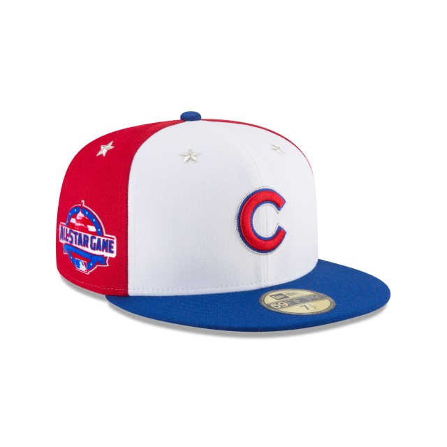 Chicago Cubs MLB All-Star Game 2018 Niño 59Fifty Cerrada Vista derecha tres cuartos
