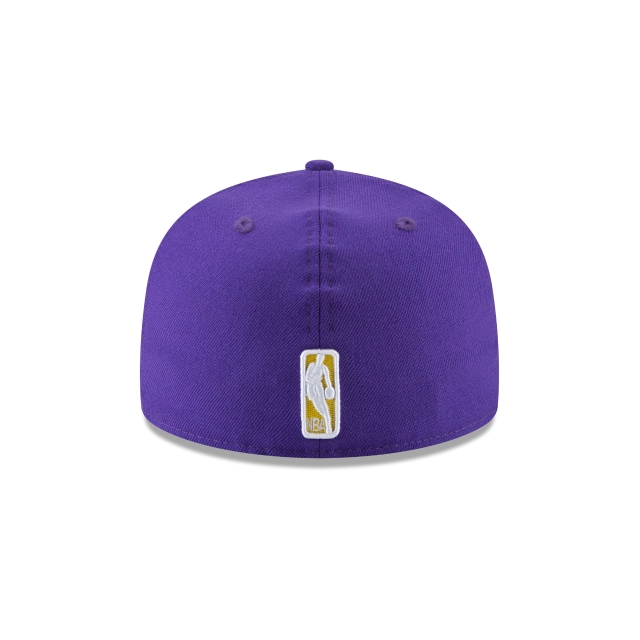 Los Angeles Lakers Wool Standard 59Fifty Cerrada Vista trasera