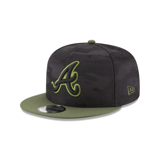 Atlanta Braves Memorial Day  9fifty Snapback | Atlanta Braves Caps | New Era Cap