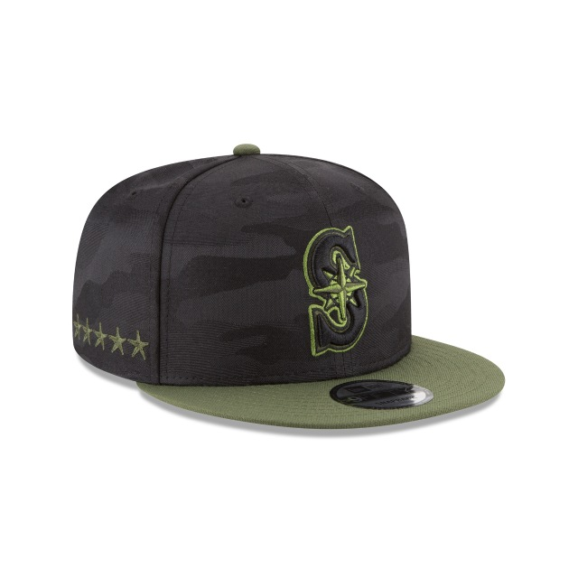 Seattle Mariners Memorial Day  9fifty Snapback | Seattle Mariners Caps | New Era Cap