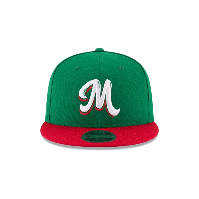 México Serie del Caribe  9Fifty OF Snapback Vista frontal