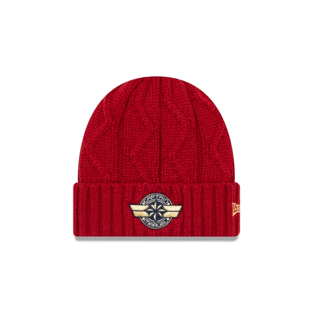 Captain Marvel  Knit | New Era Cap