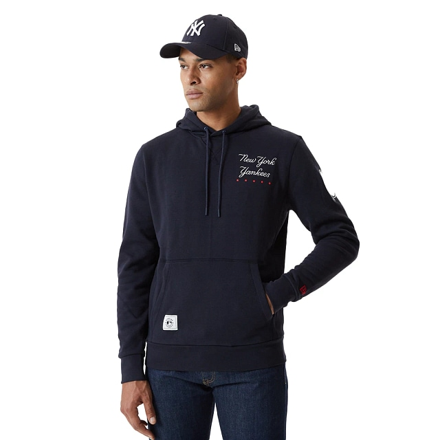 Sudadera New York Yankees MLB Heritage French Terry Navy Spring21 | Ny Yankees MLB Heritage | New Era México