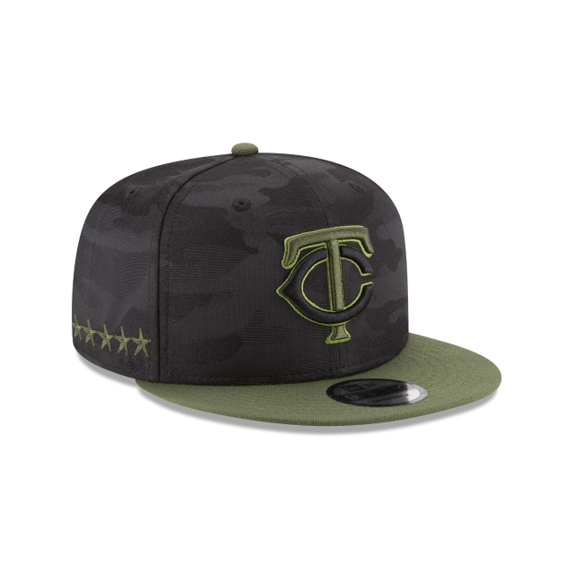 Minnesota Twins Memorial Day  9Fifty Snapback Vista derecha tres cuartos