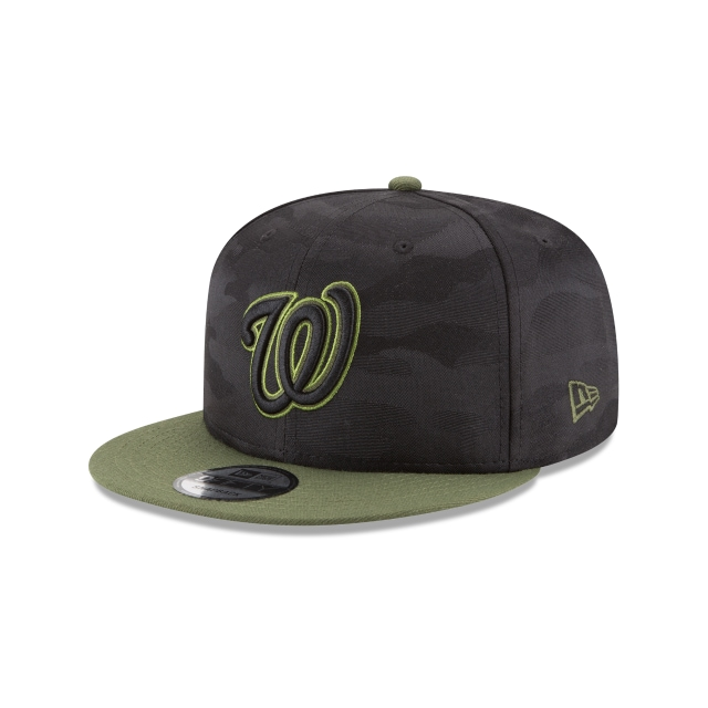 Washington Nationals Memorial Day  9Fifty Snapback Vista izquierda tres cuartos