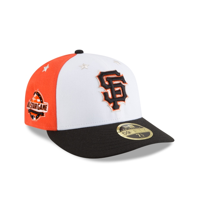 San Francisco Giants MLB All-Star Game 2018  59Fifty LP Cerrada Vista derecha tres cuartos