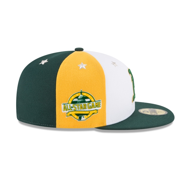 Oakland Athletics MLB All-Star Game 2018 Niño 59Fifty Cerrada Vista derecha