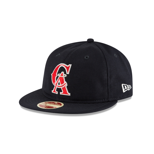 California Angels Injection Pack Vintage Stripe  59Fifty RC Cerrada Vista izquierda tres cuartos