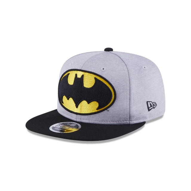 Batman Heather Huge Snap  9Fifty OF Snapback Vista izquierda tres cuartos