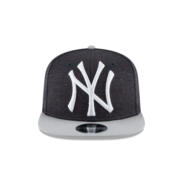 New York Yankees Heather Huge Snap  9Fifty OF Snapback Vista frontal