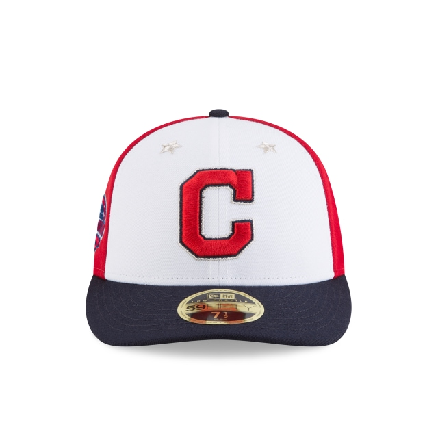 Cleveland Indians MLB All-Star Game 2018  59Fifty LP Cerrada Vista frontal