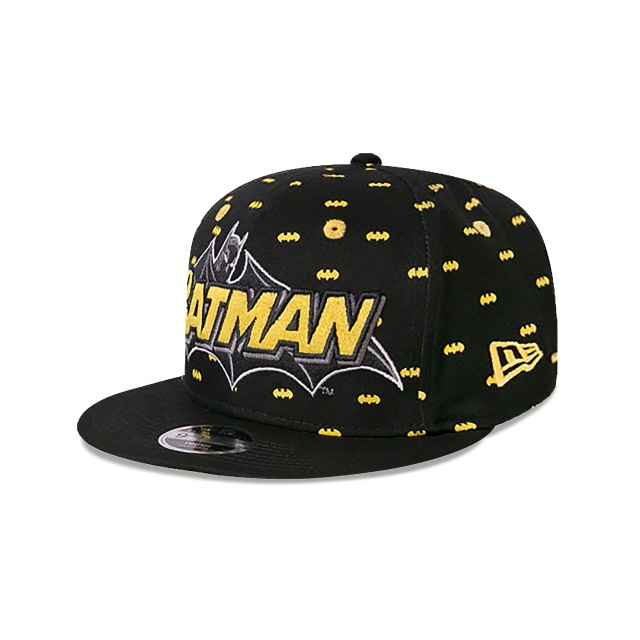 Batman Polka Niño 9fifty Of Snapback | New Era Cap