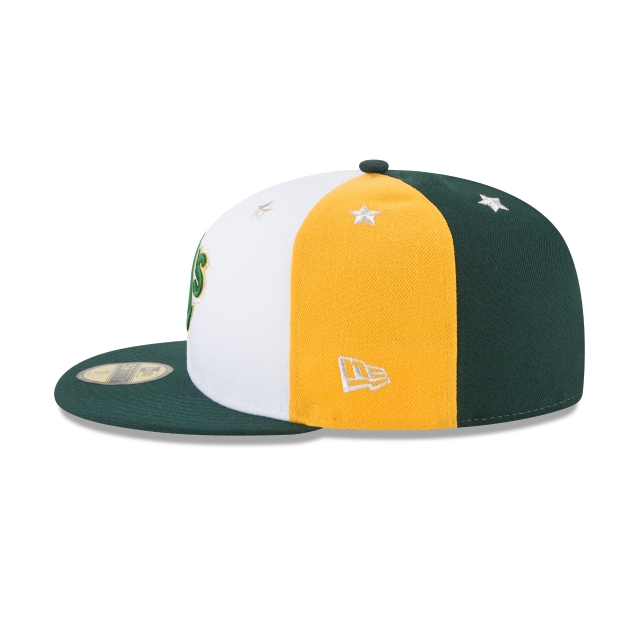 Oakland Athletics MLB All-Star Game 2018 Niño 59Fifty Cerrada Vista izquierda