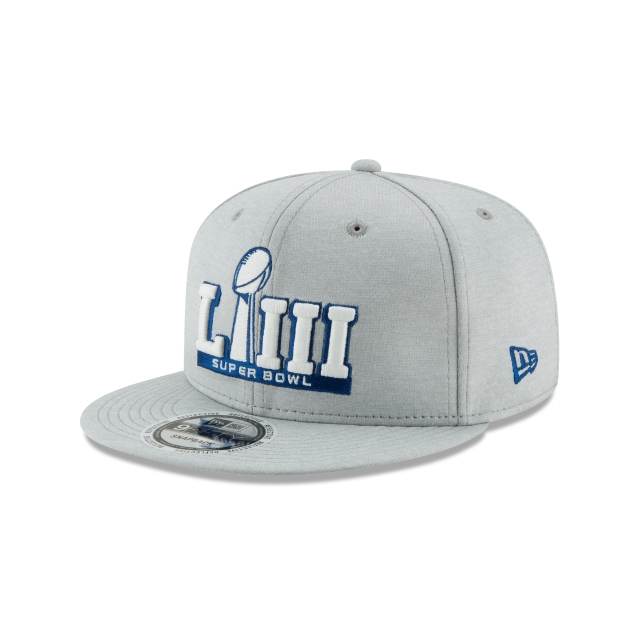 Nfl Logo Superbowl Liii  9fifty Snapback | New Era Cap
