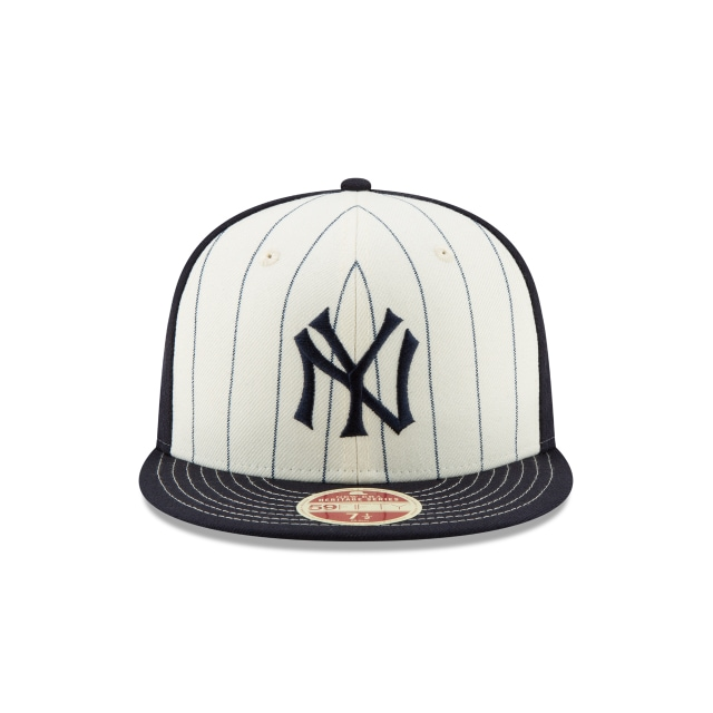 New York Yankees Injection Pack Vintage Stripe  59Fifty Cerrada Vista frontal