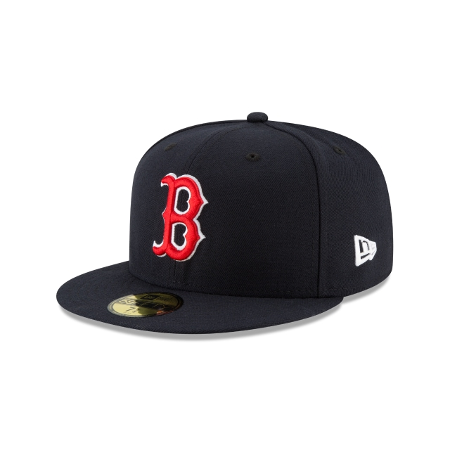 Boston Red Sox MLB Authentic Collection Parche Serie Mundial 2018 59Fifty Cerrada Vista izquierda tres cuartos