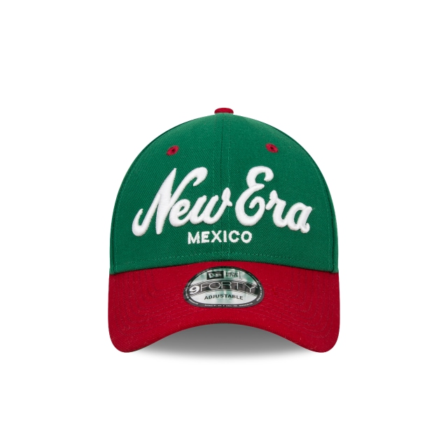 New Era Básicos de México  9Forty Strapback Vista frontal
