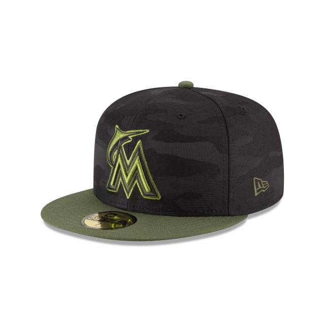 Miami Marlins Memorial Day  59fifty Cerrada | New Era Cap