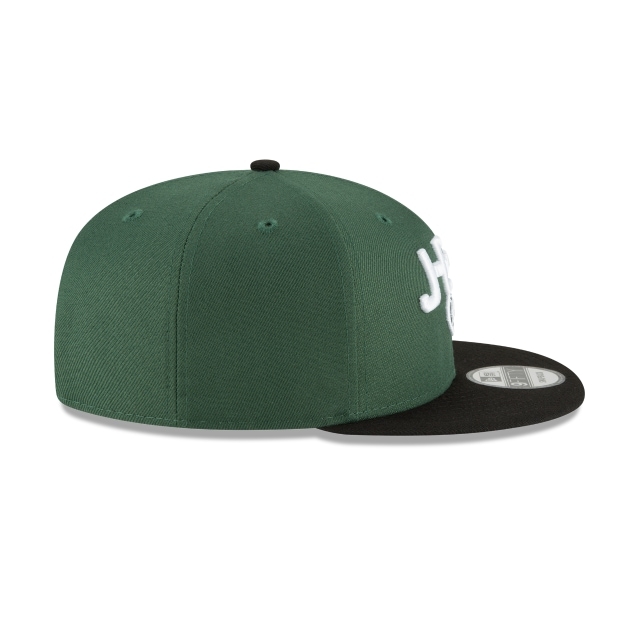 New York Jets Draft NFL 2018 9Fifty Snapback Vista derecha
