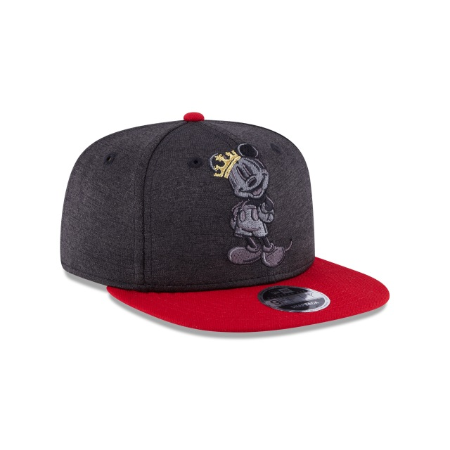 Mickey Mouse Heather Huge Snap  9Fifty OF Snapback Vista derecha tres cuartos