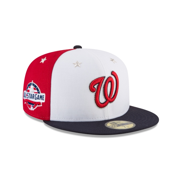 Washington Nationals MLB All-Star Game 2018 Niño 59Fifty Cerrada Vista derecha tres cuartos