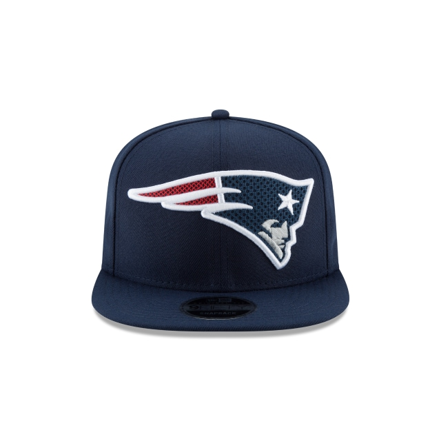 New England Patriots Meshed Mix  9Fifty OF Snapback Vista frontal