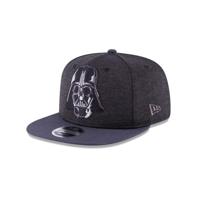 Darth Vader Heather Huge Snap  9Fifty OF Snapback Vista izquierda tres cuartos