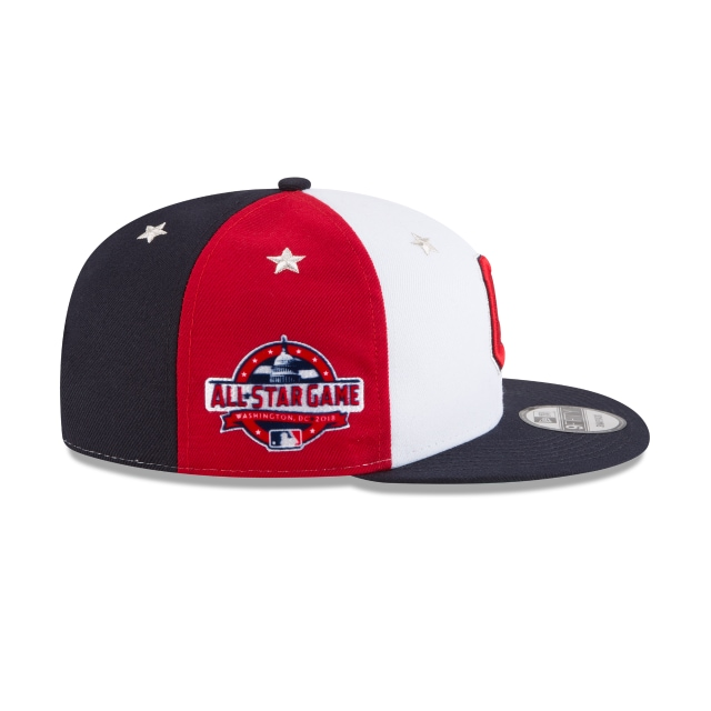 Cleveland Indians MLB All-Star Game 2018  9Fifty Snapback Vista derecha