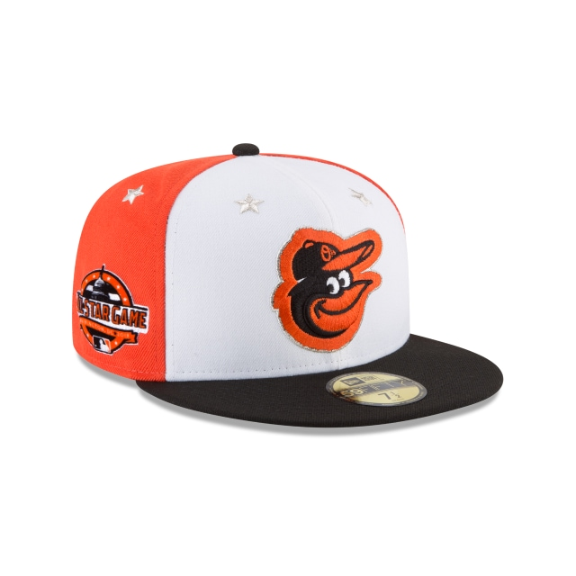 Baltimore Orioles MLB All-Star Game 2018 Niño 59Fifty Cerrada Vista derecha tres cuartos