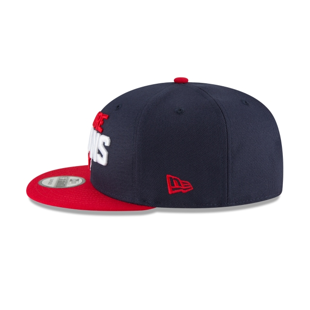 Houston Texans Draft NFL 2018 9Fifty Snapback Vista izquierda