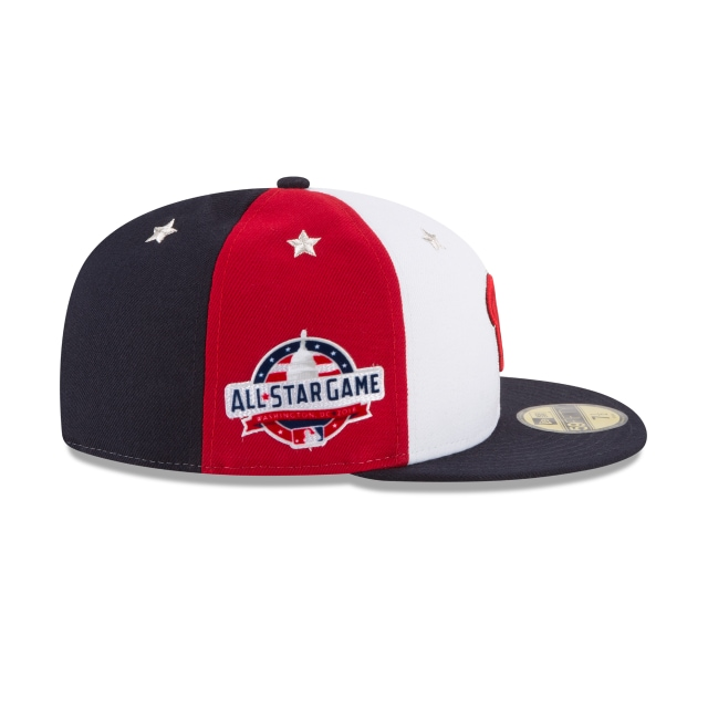 Washington Nationals MLB All-Star Game 2018 Niño 59Fifty Cerrada Vista derecha